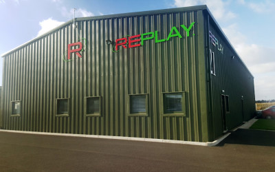'High Flyers' Replay Maintenance move to new purpose built facility