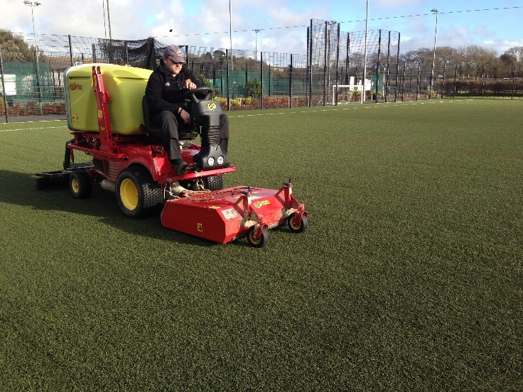 Braunton Academy on the FA's 3G Pitch register thanks to Replay
