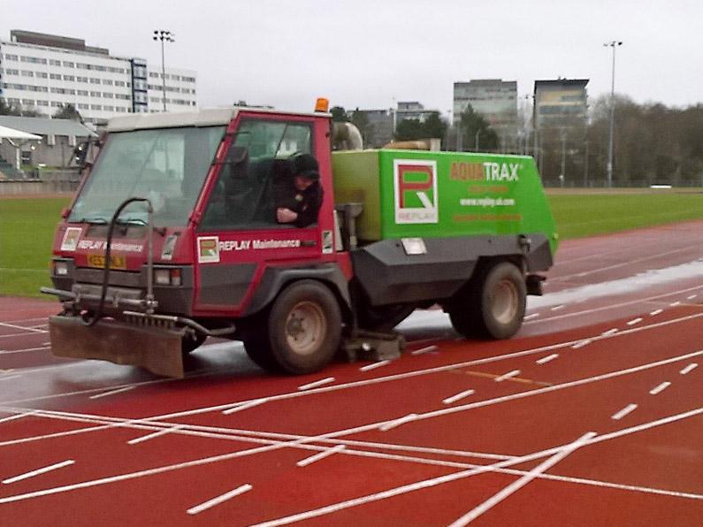 'Wash and brush up'  Aquatrax® style for Swansea University