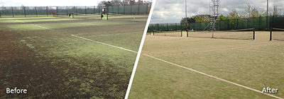 Tennis Courts Receive New Lease of Life Following Replay Rejuvenation®