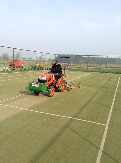 Replay Maintenance Give Tennis Courts New Lease of Life