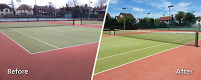 Replay Maintenance Serve up An Ace for Sussex Tennis Club