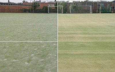 Minster School calls in Replay to restore all-weather surface to pristine condition